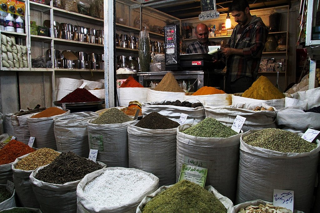 Spices and more spices.
